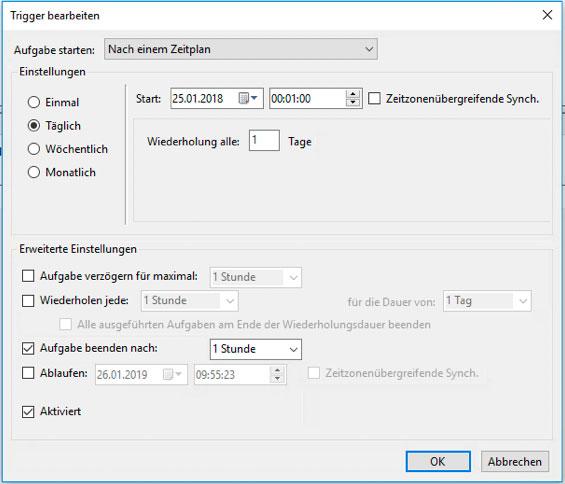Dynamische Lieferantenlieferzeiten für JTL Shop - Trigger